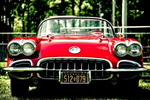 Red Corvette by RockRiderZ