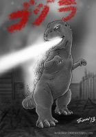 Gojira Original by kaijukid