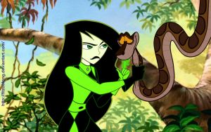 Shego meets Kaa by FitzOblong