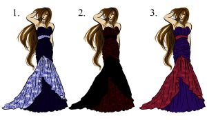 Prom Dresses by Inu-Zery