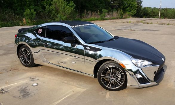 Chrome Scion FRS by TacoAce