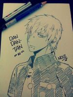 [Sketch for DanDan-Tan] Noiz - DMMd by riiko23