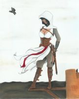 Lady Assassin by tinparrot