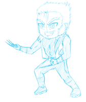 Chibi-A-Day series: Day 1- Wolverine by Siouxstar