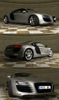 Audi R8 3D model by Artwork-Production