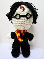 Harry Potter Crochet Doll by Nissie