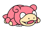 Vector: Slowpoke Pokedoll by Fishlover