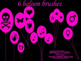Baloon brushes by OMFGman