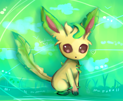 Pokedex Challenge #19: Leafy by WendySakana