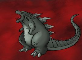 Mr. Godzilla by SonicKnight007