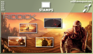 Stamps - 2013 - Riddick by od3f1