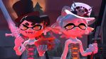 Necromancer Sisters (Splatoon Freaks) by CatDraculaX05