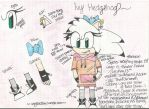 Ivy Hedgehog Ref by BellaaHedgehog
