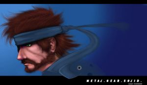 Metal Gear Solid Wallpaper by Animixter