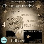 Christmas glitter kit by NathL-fr