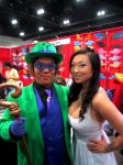 AX'13 The Riddler with Yaya Han by theEmperorofShadows