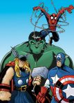 AVENGERS COLOR by JAGRASSI