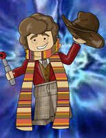 Lego 4th Doctor by TateShaw
