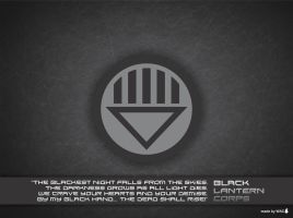 Black Lantern Corps Wallpaper by Willianac