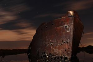 Ghost Ship by N-ScapePhotography