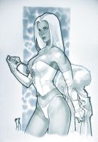 emma frost by StephaneRoux