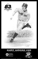 Erie SeaWolves Lithograph by kevin-john