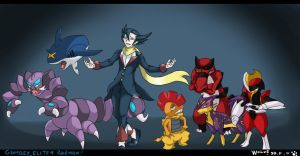 poke : grimsley full team by WolveForger