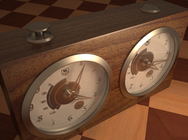 Chess Clock by Menotodokukagiri