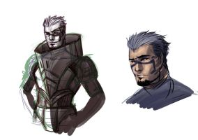Human Garrus by AnimeFreak00910