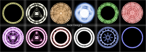 Arcane Circles Brush Pack by nerfAvari