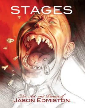 Stages - Art book cover by jasonedmiston