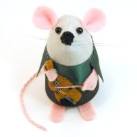 Violin Mouse by The-House-of-Mouse