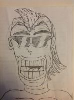Cool Smile? - Sketch Funnies by VISION-KING