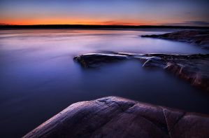 Slave River Twilight by Thomas-Koidhis