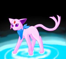 sunshine the espeon by creepyeevee