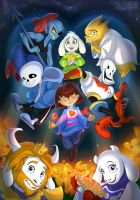 Undertale by Seanica