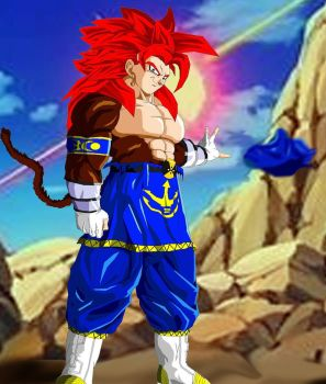 vegetto ssj 4_upgraded pic by ruga-rell