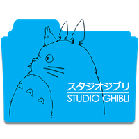 Icon Folder - Studio Ghibli by alex-064