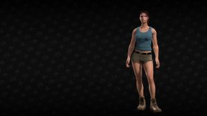Lara Croft in Saints Row The Third by Revan654
