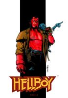 Hellboy from mignola by Thegerjoos