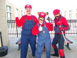 It's-a Us! Mario! 'Naka-Kon 2015' by MissLink8908