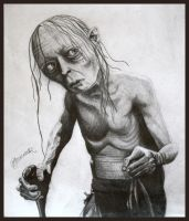 Gollum by Bonniemarie
