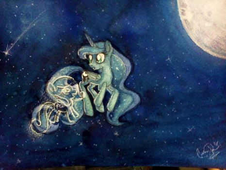 I think I can hear the twinkles! by domickee