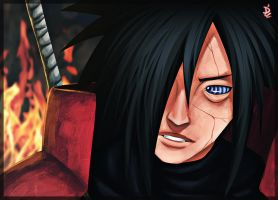 Edo Uchiha Madara by THE-PHOENIIX