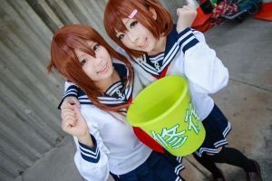 Kantai Collection - Inazuma x Ikazuchi by Xeno-Photography
