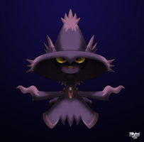 Mismagius by Matt-Criston