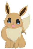 Commission: Eevee by Suikasen