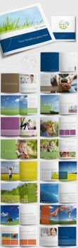 Square Corporate Brochure / Image Brochure by at-hh