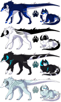 Zoren Adoptables 5 - CLOSED by Karijn-s-Basement