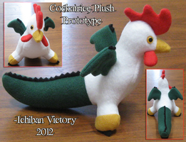 Cockatrice Plush Prototype by IchibanVictory